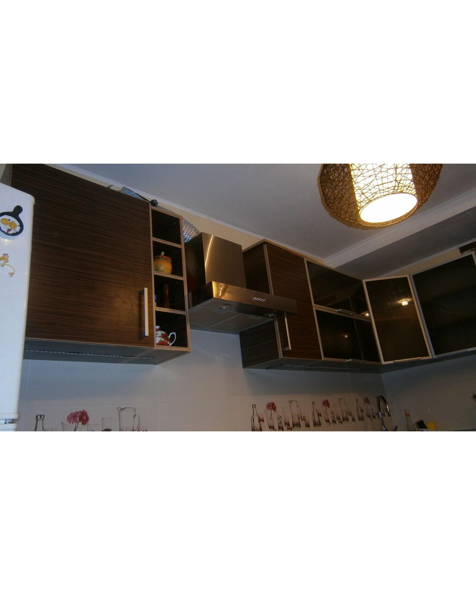 Кухня фасад ДСП Угловая с Освещением 105