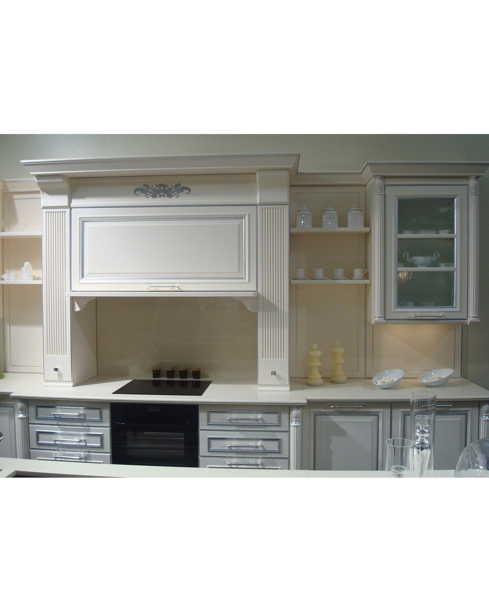 Кухня из массива Ясеня Прямая 407