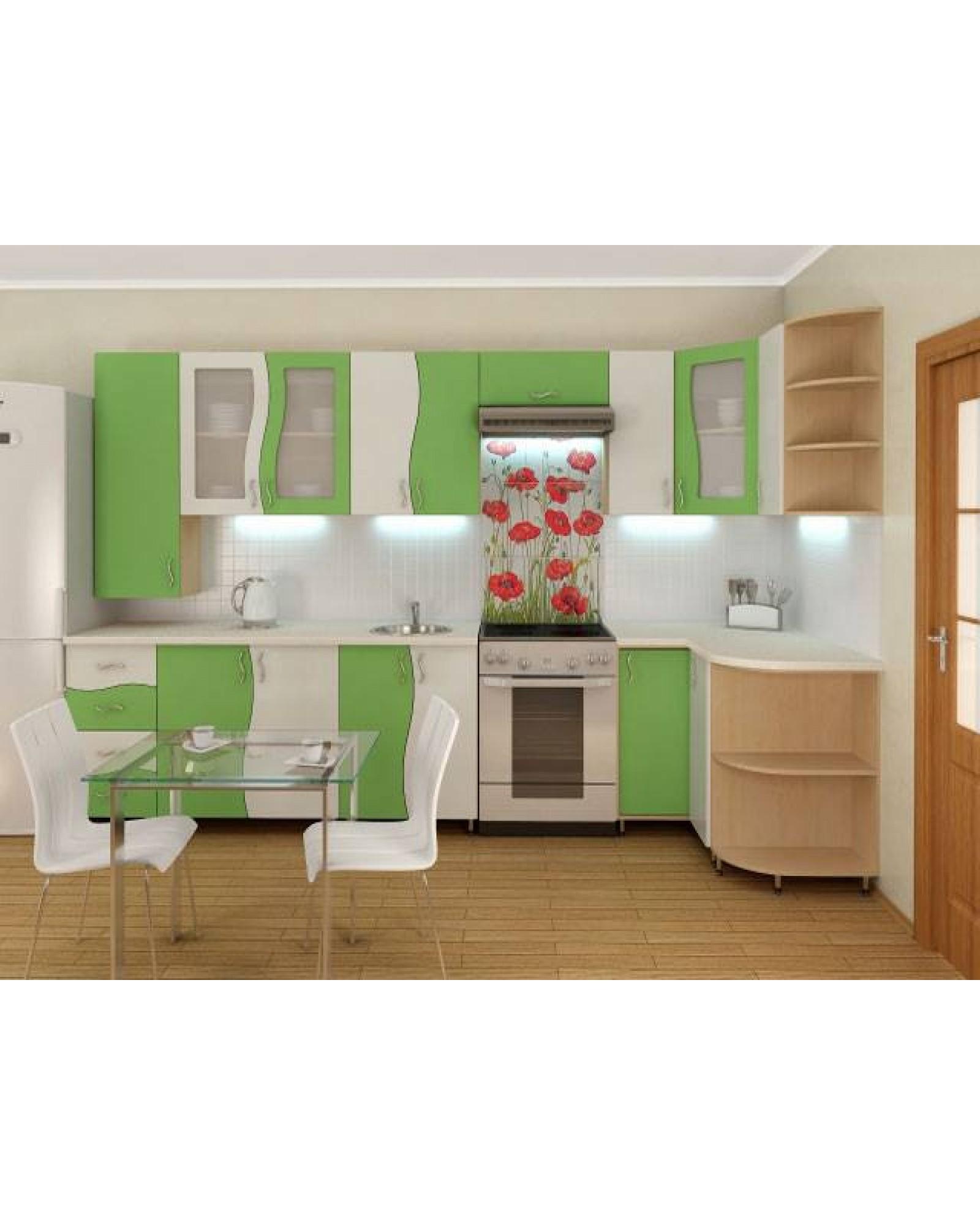 Кухня фасад МДФ Угловая 001