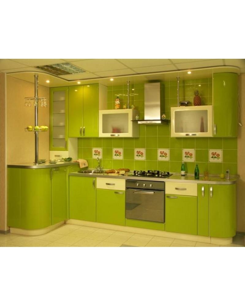 Кухня фасад МДФ Угловая 011