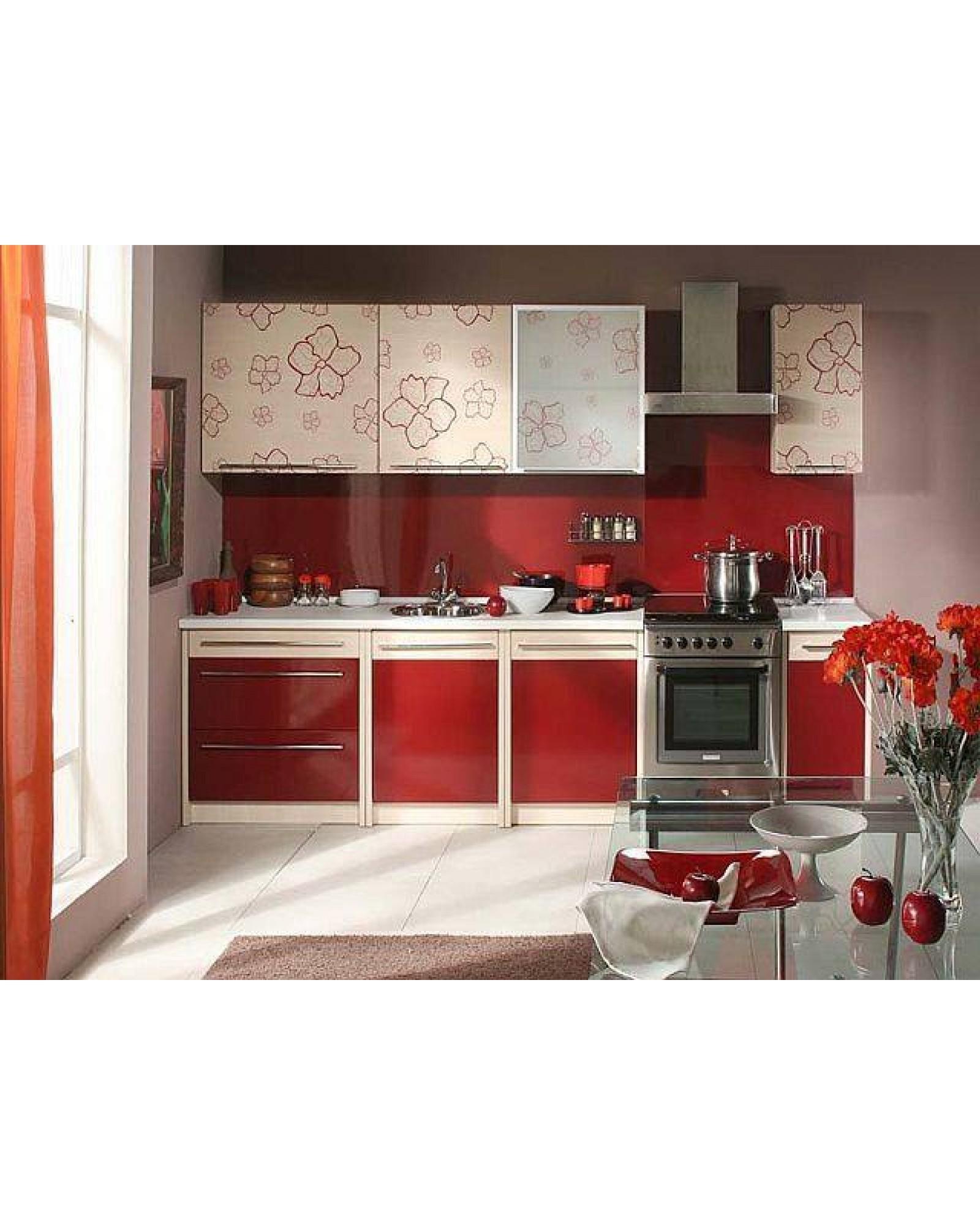 Кухня фасад МДФ Прямая 012