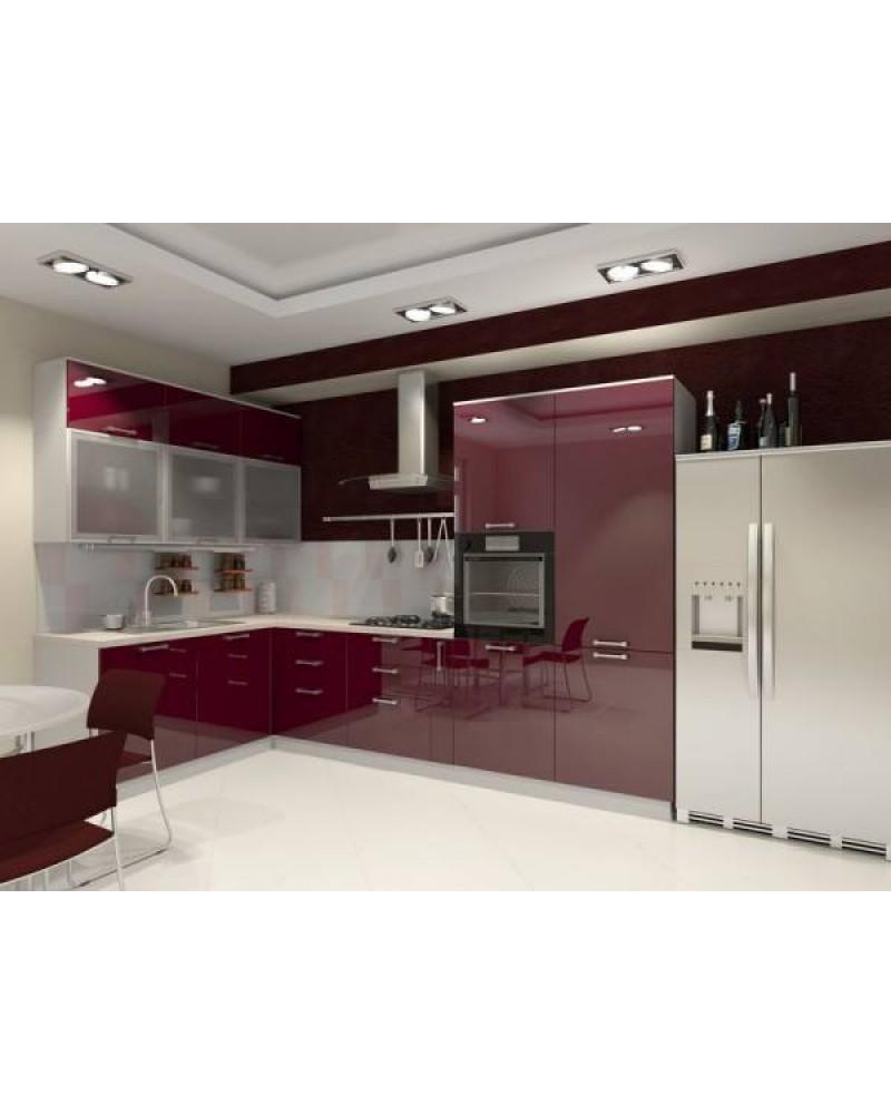 Кухня фасад МДФ Угловая 017