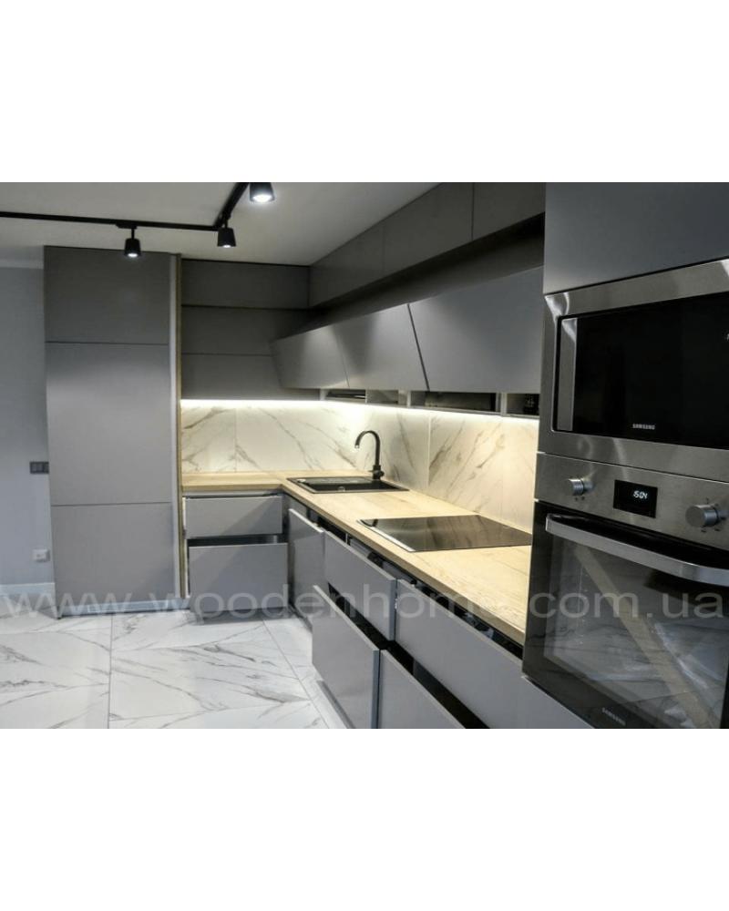 Кухня фасад МДФ Прямая 034