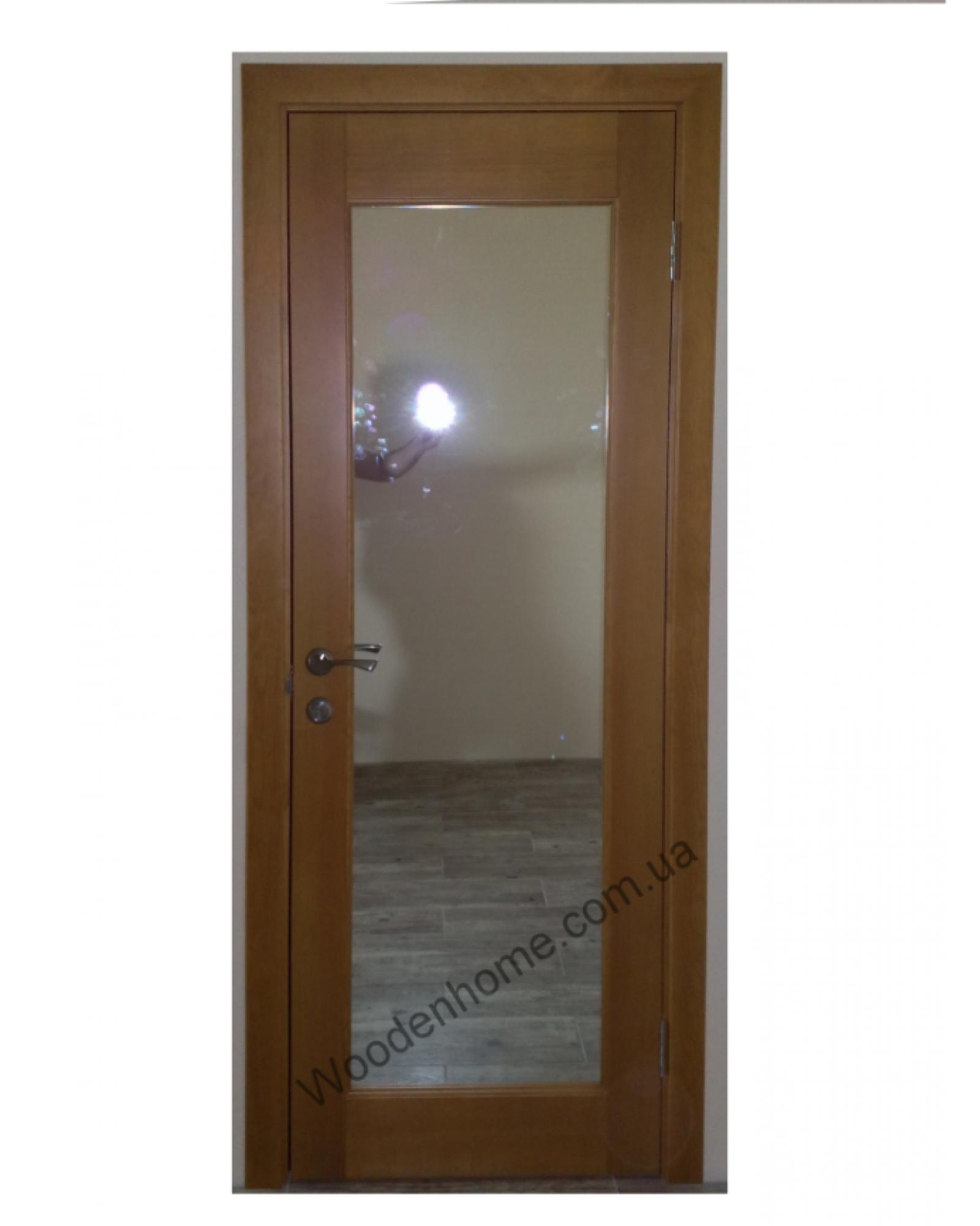 Двери сосна модель 01.30 с зеркалом
