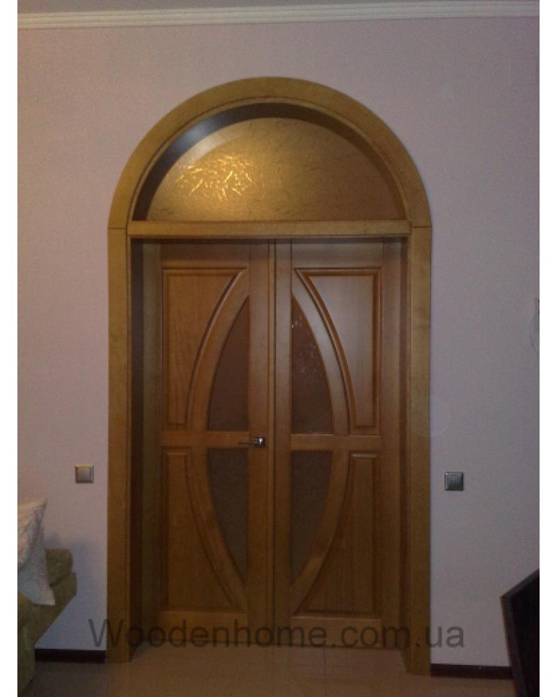 Двери арочные 27.00 Луна