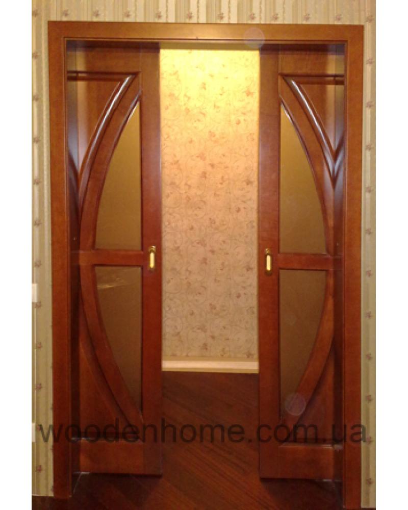 Двери сосна раздвижные
