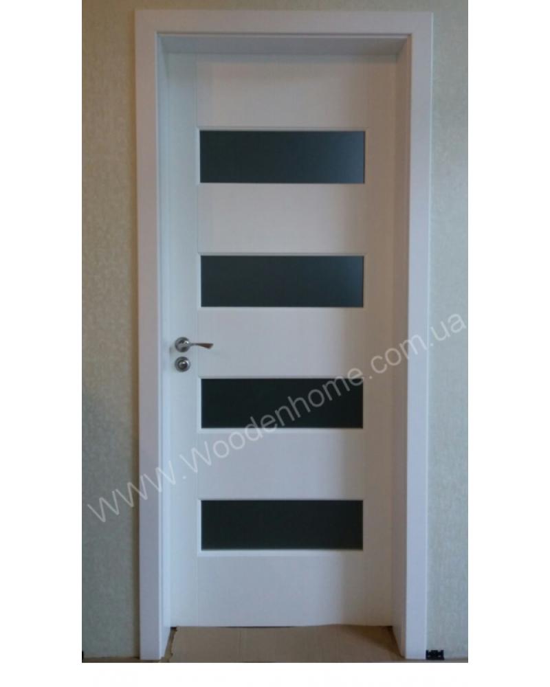 Двери из сосны белые