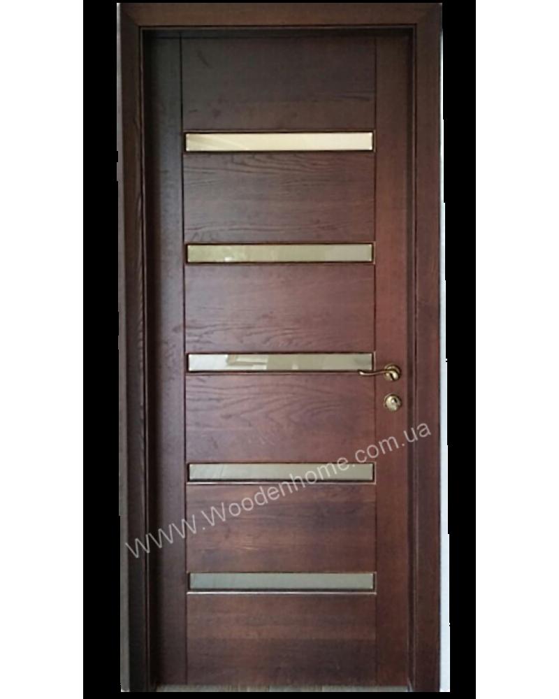 Двери из массива ясеня модель 42.50