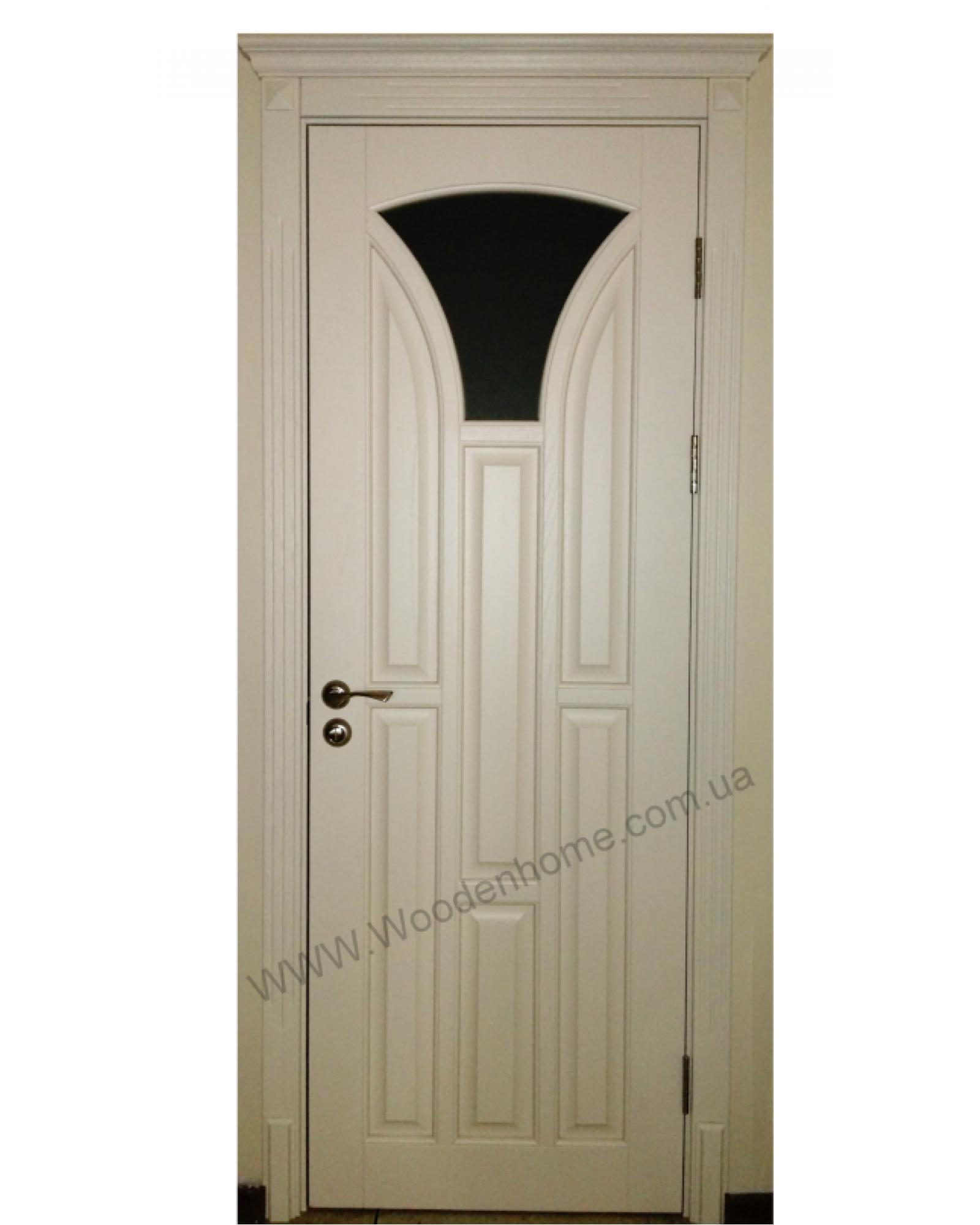 Межкомнатные двери белый ясень